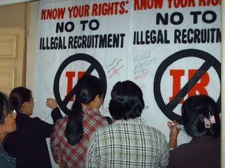 overseas filipino workers, illegal recruitment