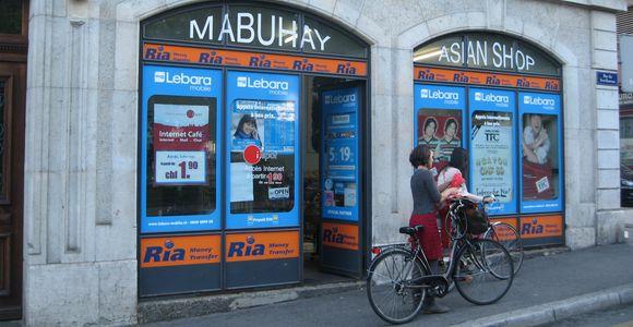 Filipino store in Geneva