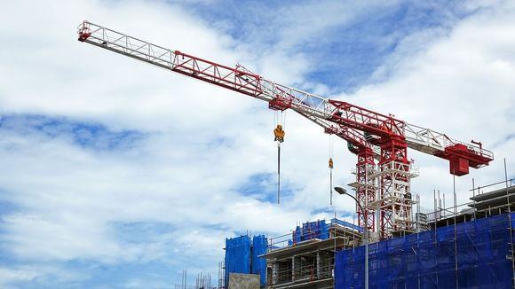 Construction, Crane in Singapore