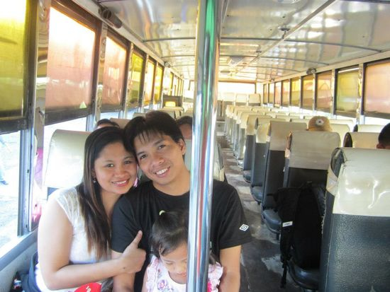 Dong and Salve arrived at the bus terminal to Matabungkay Batangas first.