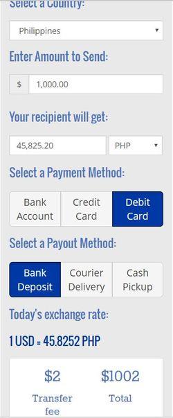 Ria Online Money Transfer