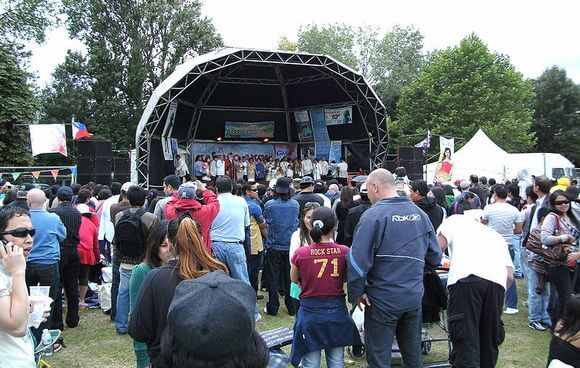 Filipino Barrio Fiesta in London, United Kingdom