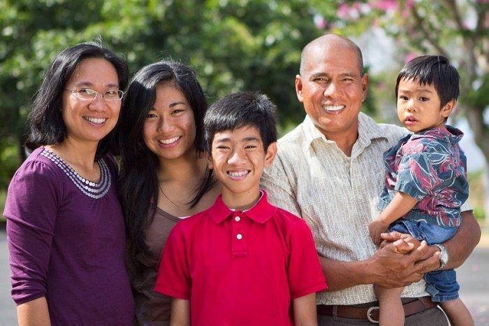Happy OFW with Family