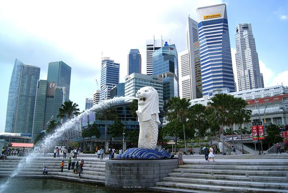 Merlion, the Symbol of Singapore
