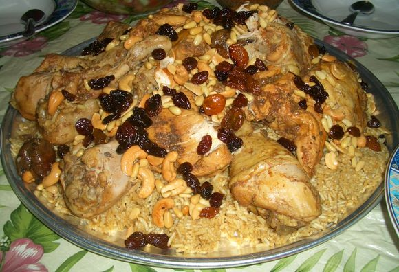 Al-Kabsa Saudi Arabian food